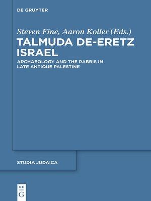 cover image of Talmuda de-Eretz Israel