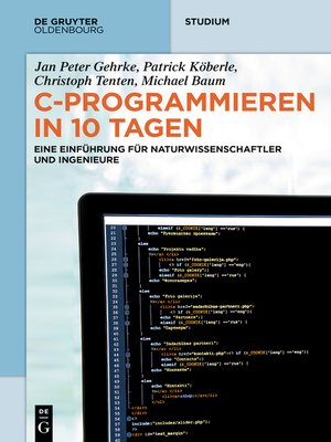 cover image of C-Programmieren in 10 Tagen