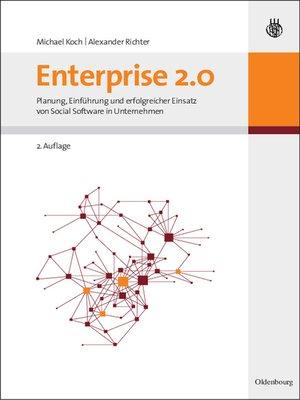 cover image of Enterprise 2.0