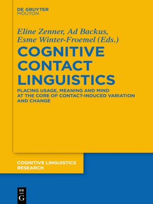 cover image of Cognitive Contact Linguistics