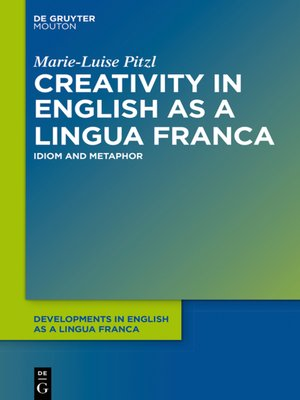 cover image of Creativity in English as a Lingua Franca