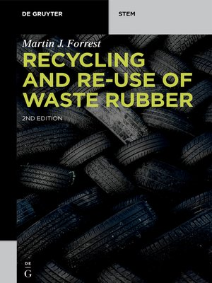 cover image of Recycling and Re-use of Waste Rubber