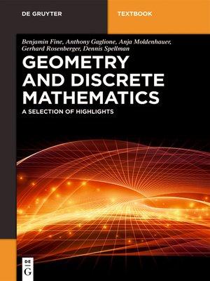 cover image of Geometry and Discrete Mathematics