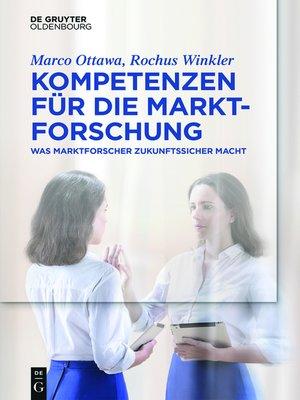 cover image of Kompetenzen für die Marktforschung