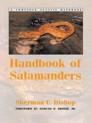 cover image of Handbook of Salamanders