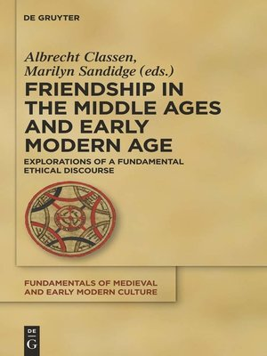 cover image of Friendship in the Middle Ages and Early Modern Age