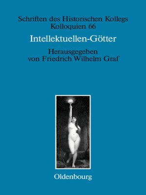 cover image of Intellektuellen-Götter