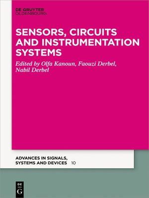 cover image of Sensors, Circuits and Instrumentation Systems
