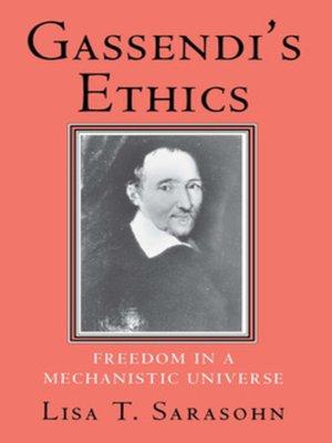 cover image of Gassendi's Ethics