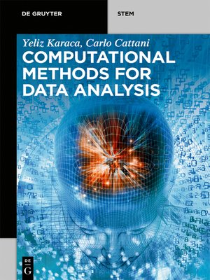 cover image of Computational Methods for Data Analysis
