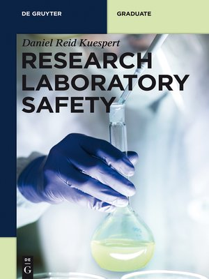 cover image of Research Laboratory Safety