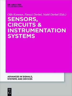 cover image of Sensors, Circuits & Instrumentation Systems