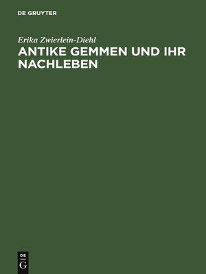 cover image of Antike Gemmen und ihr Nachleben