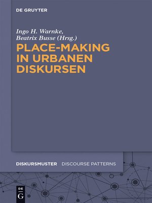 cover image of Place-Making in urbanen Diskursen