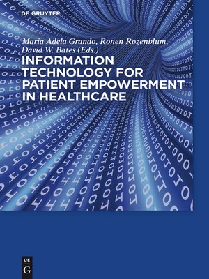 cover image of Information Technology for Patient Empowerment in Healthcare