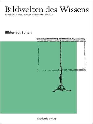cover image of Bildendes Sehen