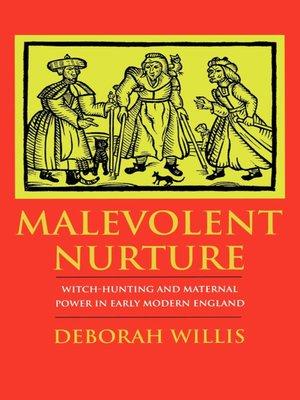 cover image of Malevolent Nurture