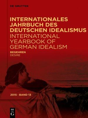 cover image of Begehren / Desire