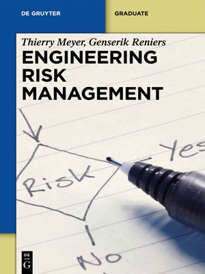 cover image of Engineering Risk Management