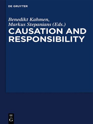 """cover image of Critical Essays on """"Causation and Responsibility"""""""