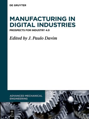 cover image of Manufacturing in Digital Industries