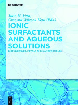 cover image of Ionic Surfactants and Aqueous Solutions