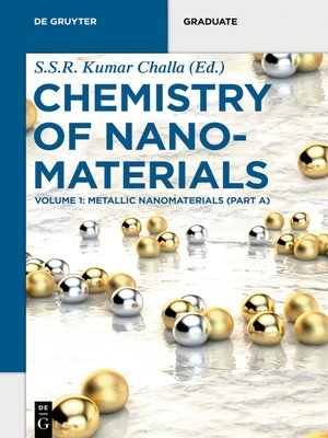 cover image of Metallic Nanomaterials (Part A)