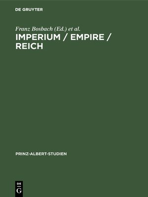 cover image of Imperium / Empire / Reich