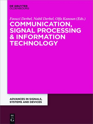 cover image of Communication, Signal Processing & Information Technology
