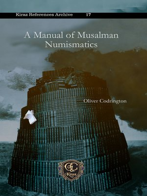 cover image of A Manual of Musalman Numismatics