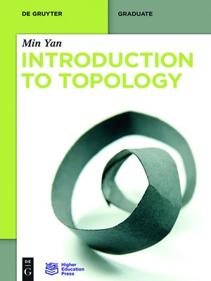 cover image of Introduction to Topology