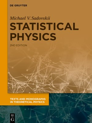 cover image of Statistical Physics