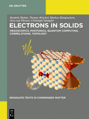 cover image of Electrons in Solids