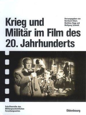 cover image of Krieg und Militär im Film des 20. Jahrhunderts