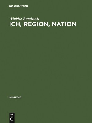 cover image of Ich, Region, Nation