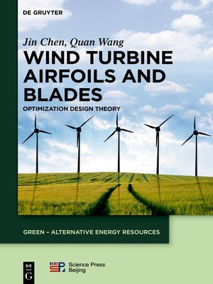 cover image of Wind Turbine Airfoils and Blades