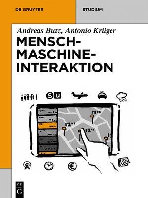 cover image of Mensch-Maschine-Interaktion