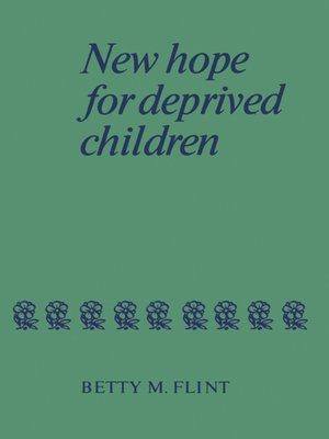 cover image of New Hope for Deprived Children
