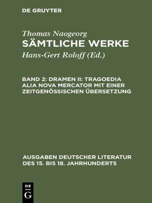 cover image of Dramen II
