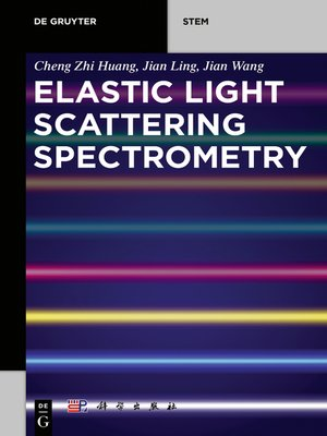 cover image of Elastic Light Scattering Spectrometry
