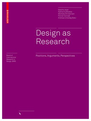 cover image of Design as Research