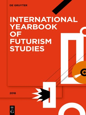 cover image of International Yearbook of Futurism Studies, 2018