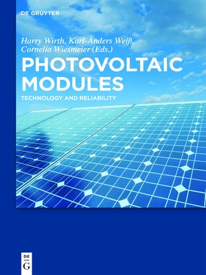 cover image of Photovoltaic Modules