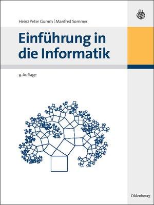 cover image of Einführung in die Informatik