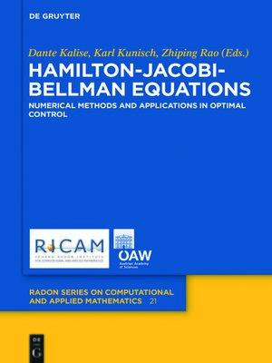 cover image of Hamilton-Jacobi-Bellman Equations