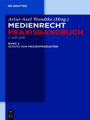 cover image of Schutz von Medienprodukten