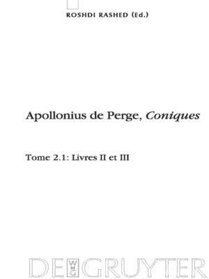 cover image of Livres II et III. Commentaire historique et mathématique, édition et traduction du texte arabe