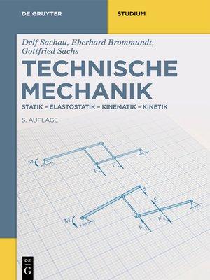 cover image of Technische Mechanik