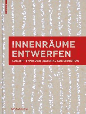 cover image of Innenräume entwerfen
