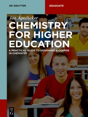 cover image of Chemistry for Higher Education